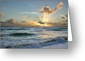 Big Island Greeting Cards - Hawaii sunrise Greeting Card by Robert Ponzoni
