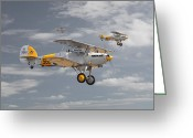 Raf Digital Art Greeting Cards - Hawker Nimrod Greeting Card by Pat Speirs