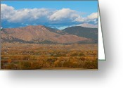 Colorado Mountain Prints Greeting Cards - Haystack Autumn View Greeting Card by James Bo Insogna