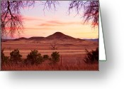 Sunset Posters Greeting Cards - Haystack Mountain - Boulder County Colorado -  Sunset Evening Greeting Card by James Bo Insogna