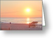 T-shirt Greeting Cards - HDR Beach Ocean Beaches Oceanview Scenic Sunrise Seaview Sea Photos Pictures Photo Greeting Card by Pictures HDR