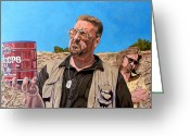 Tom Roderick Greeting Cards - He Was One Of Us Greeting Card by Tom Roderick