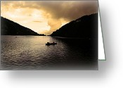 Nainital Photo Greeting Cards - Heading Home Greeting Card by Greg Palmer