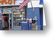Mail Box Photo Greeting Cards - Headless Beauties on Jerome Avenue Greeting Card by Sarah Loft