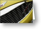 Austin Healey Photo Greeting Cards - Healey Greeting Card by Rebecca Cozart