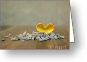 Apartment Greeting Cards - Heart of Glass Greeting Card by Kristin Kreet