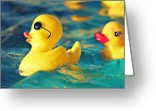 Little Boy Photo Greeting Cards - Heartbreaker Greeting Card by Amy Tyler