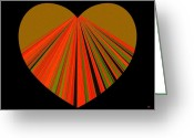 Sympathy Greeting Cards - Heartline 5 Greeting Card by Will Borden