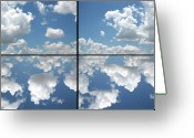 Heaven Greeting Cards - Heaven Greeting Card by James W Johnson