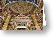 Clergy Greeting Cards - Heavenly Altar Greeting Card by Susan Candelario