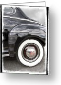 Antique Cars Greeting Cards - Heavenly Ford Greeting Card by Debra and Dave Vanderlaan