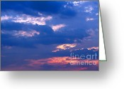 Gloaming Greeting Cards - Heavens Above Greeting Card by Susan Stevenson