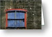 Door Hinges Greeting Cards - Heavy Hinges Greeting Card by Calvin Wray