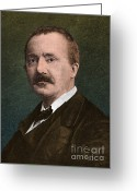 Troy Greeting Cards - Heinrich Schliemann Greeting Card by Science Source