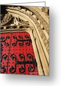 Pitt Greeting Cards - Heinz Chapel Doors Greeting Card by Thomas R Fletcher