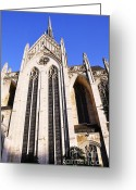 Pittsburgh Greeting Cards - Heinz Chapel Greeting Card by Thomas R Fletcher