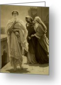 Trojan Greeting Cards - Helen of Troy Greeting Card by Frederic Leighton