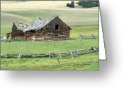 Marty Koch Greeting Cards - Helena Ranch Greeting Card by Marty Koch