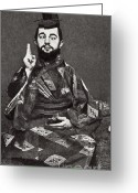 Personage Greeting Cards - Henri De Toulouse-lautrec Greeting Card by Photo Researchers
