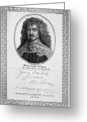 Autograph Greeting Cards - Henry Jermyn (1604-1684) Greeting Card by Granger