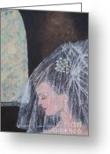 Tulle Greeting Cards - Her Day Greeting Card by William Ohanlan