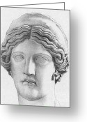 Hera Greeting Cards - Hera, Greek Goddess Greeting Card by Photo Researchers