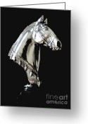 Canadian Photographer Greeting Cards - Hi Ho Silver Greeting Card by Al Bourassa