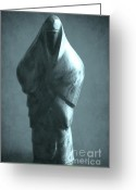 Wood Sculpture Greeting Cards - hidden Identity Greeting Card by Sophie Vigneault