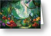 Enchanted Greeting Cards - Hidden Treasure Greeting Card by Philip Straub