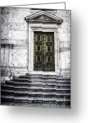 Construction Greeting Cards - Hiding a Treasure Greeting Card by Joan Carroll