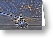 Enhanced Greeting Cards - High Dynamic Range Image Greeting Card by Terry Moore