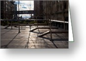Bare Trees Greeting Cards - High Line Park Greeting Card by Eddy Joaquim