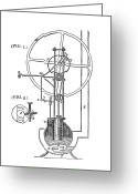 Cousins Greeting Cards - High-pressure Engine Greeting Card by Science, Industry & Business Librarynew York Public Library