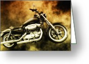 Acdc Greeting Cards - Highway To Hell Greeting Card by Bill Cannon