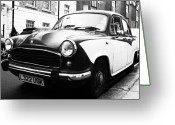 Old Street Greeting Cards - Hillman Morris Greeting Card by Osvaldo Hamer
