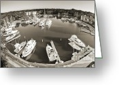 Boats Greeting Cards - Hilton Head Harbor Town Yacht Basin 2012 Greeting Card by Dustin K Ryan