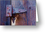 Hinge Greeting Cards - Hinged Greeting Card by Debbi Granruth