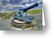 Defence Greeting Cards - Historic Canon  Greeting Card by Drew Castelhano