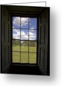 Historic Greeting Cards - Historic Drayton Hall Window in Charleston South Carolina Greeting Card by Dustin K Ryan