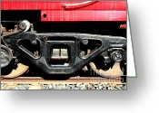 Old Caboose Greeting Cards - Historic Niles District in California Near Fremont . Western Pacific Caboose Train . 7D10625 Greeting Card by Wingsdomain Art and Photography