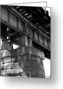 Bridge Greeting Cards - Historical Support Greeting Card by Kelvin Booker