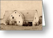 Rural Art Greeting Cards - History  Greeting Card by Julie Hamilton