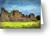 Ireland Greeting Cards - History Stands Southern Ireland Greeting Card by Mark Richards