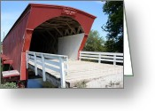 Clint Eastwood Greeting Cards - Hogback Bridge Greeting Card by David Bearden