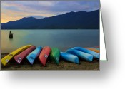Olympic National Park Greeting Cards - Holding On To Summer Greeting Card by Heidi Smith