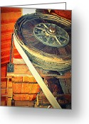Big Wheel Greeting Cards - Hole In The Sky Greeting Card by Diane montana Jansson