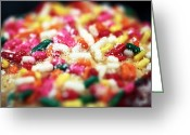 Kitchen Photos Greeting Cards - Holiday Cookie Greeting Card by John Rizzuto