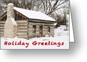 Troy Greeting Cards - Holiday Greetings Greeting Card by Michael Peychich