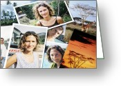Vacationers Greeting Cards - Holiday Photos Greeting Card by Johnny Greig