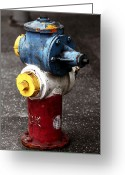 California Photographer Greeting Cards - Hollywood Hydrant Greeting Card by John Rizzuto